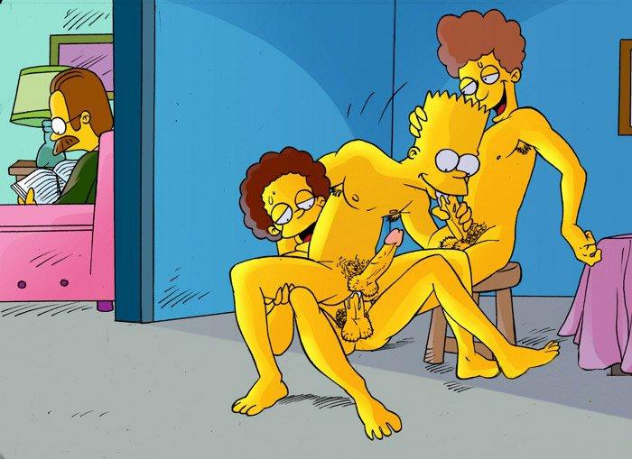 гей порно мультики симпсоны